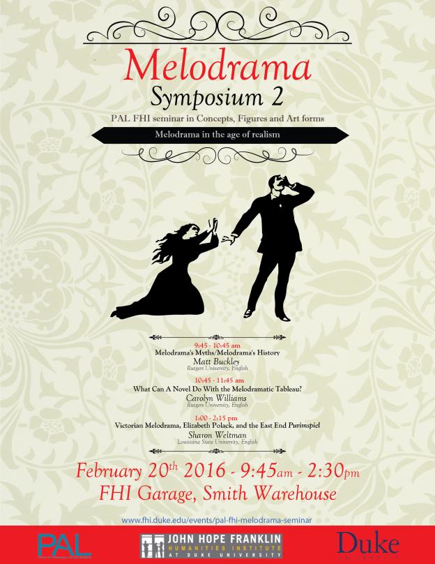 Melodrama symposium 2 poster