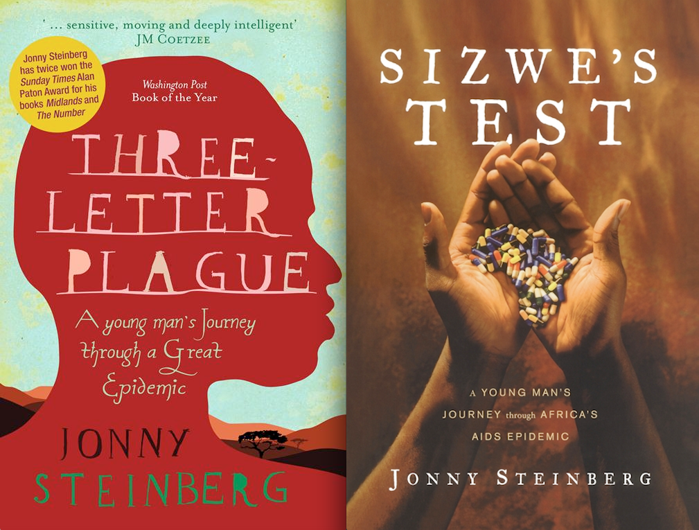 Jonny Steinberg book cover comparison
