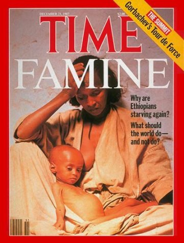 Ikoku - Time Magazine Ethiopian famine cover