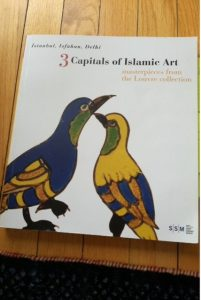 Sabanic Catalogue, Istanbul, Isfahan, Delhi: Three Capitals of Islamic Art (Istanbul, February 2008). Title page.