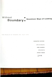 Without Boundary: Seventeen Ways of Looking by