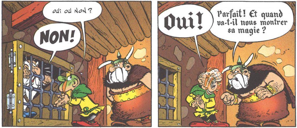Illustration 1: Albert Uderzo; René Goscinny, Astérix et les Goths (Paris: Hachette, 2013 [1963])