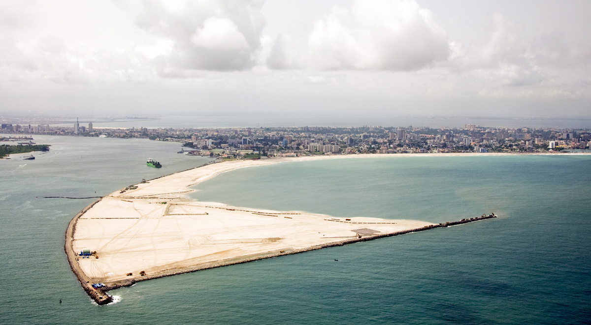 Eko-Atlantic project, Nigeria.